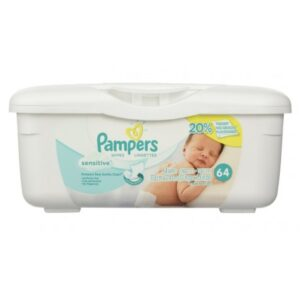Pampers Wipes Sensitive - 64ct