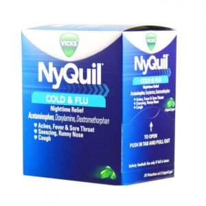 Nyquil Cold & Flu - 25 Caps