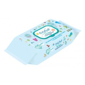 Only Fresh Wet Wipes (Blue) - 80 Count