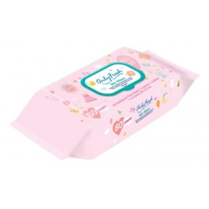 Only Fresh Wet Wipes (Pink) - 80 Count