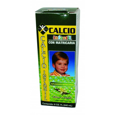 Salutem Calcio Infantil Vanilla, 8 fl. oz.
