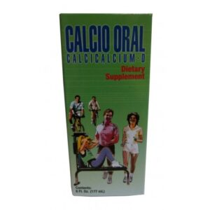 Calcio Oral - 60 Caps