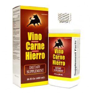 Memper Vino Carne y Hierro - 16 fl. oz.