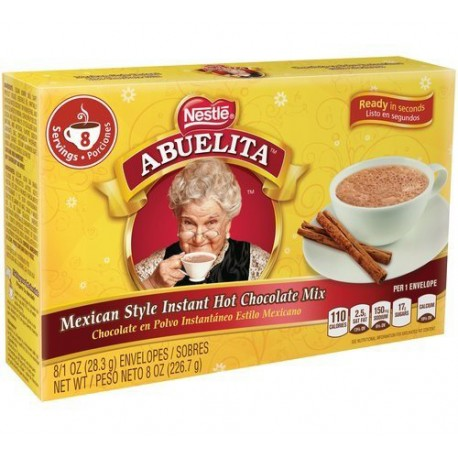 Nestle Abuelita Hot Chocolate Mix - 8/1 oz.
