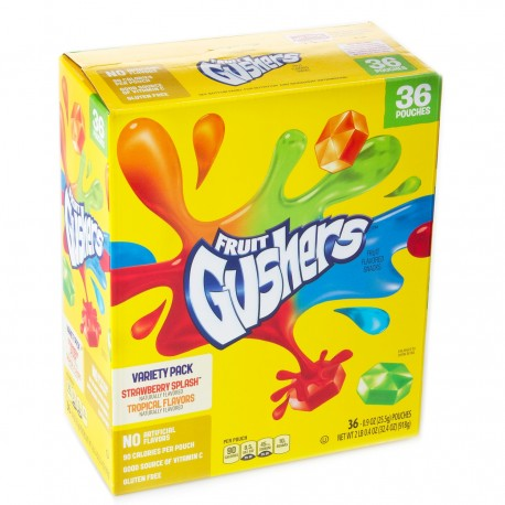 Fruit Gushers Mix Flavor - 36ct