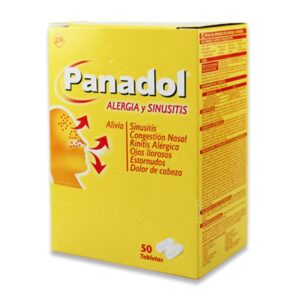 Panadol Allergy Sinus Tablets - 50ct