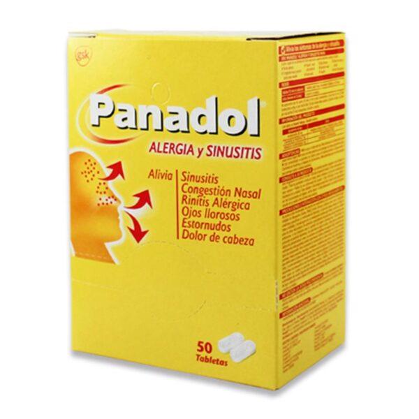 Panadol Allergy Sinus Tablets - 50ct