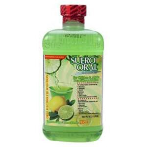 Suero Oral Lemon, 1 lt. - (Case of 8)