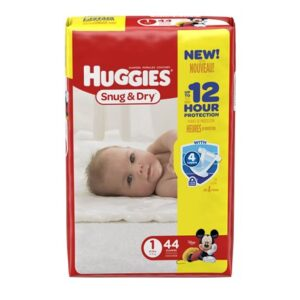 Huggies Diapers Snug & Dry 1 - 4/44's