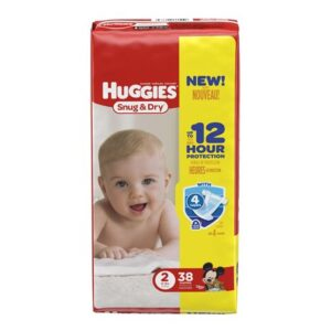 Huggies Diapers Snug & Dry 2 - 4/38's